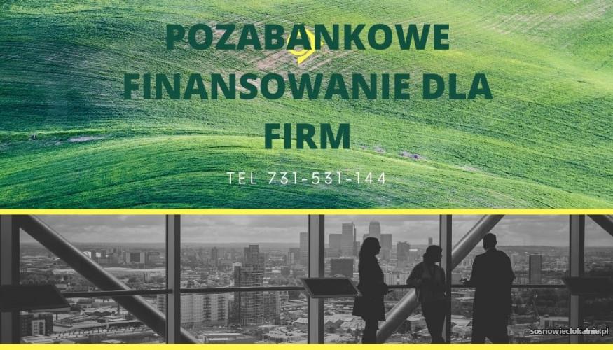 Pozabankowe finansowanie dla firm i rolnikow
